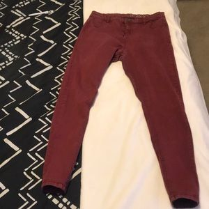 Reddish jeggings from cotton on
